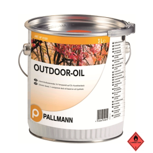 Pallmann OUTDOOR OIL 3 Liter